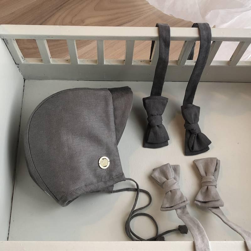 Bilde av KULDESKYDD Bremlue ull lin slate grey (54/58)